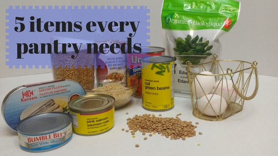 5 items every pantry needs