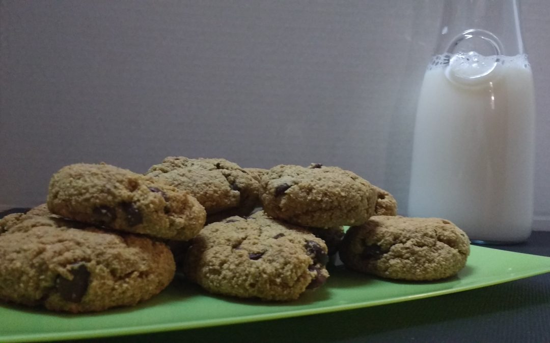 Gluten Free Chocolate Chip Cookies + Tiger Nuts