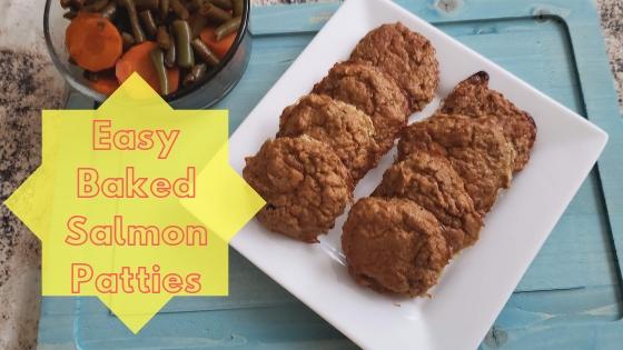 Easy Baked Salmon Patties