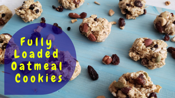 Fully Loaded Oatmeal Cookies