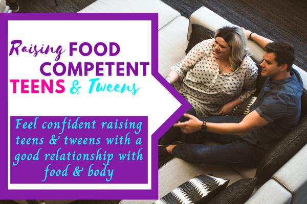 Raising Food-Competent Teens & Tweens Program Announcement