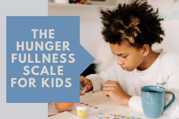 The Hunger Fullness Scale for Kids